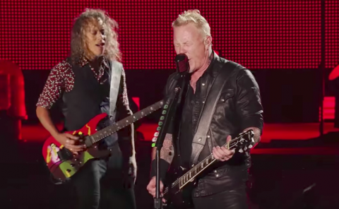 "Metallica release second video for ""Now That We're Dead"""