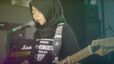 Prog metal in hijabs: All-girl band The Voice of Baceprot from Indonesia