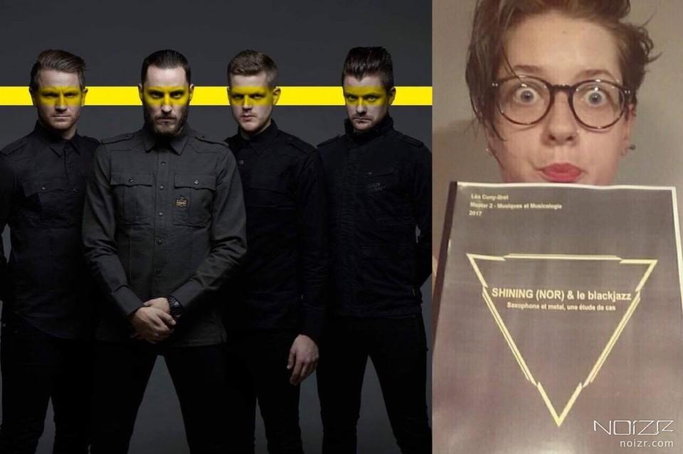 Shining и автор работы Léa Cuny-Bret — Музыка вдохновляет: Француженка написала магистерскую работу о группе Shining