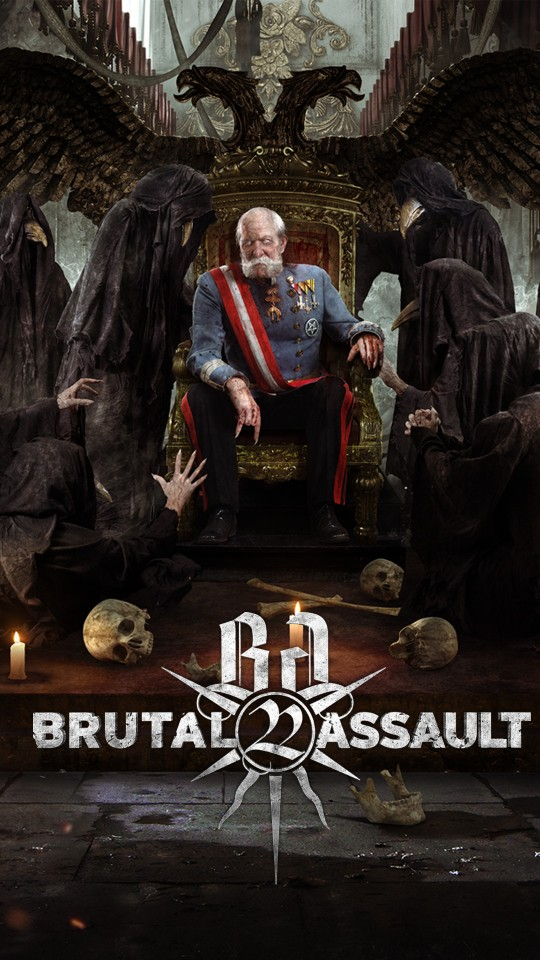 Brutal Assault 22: New fest's artwork and hardcore announcement