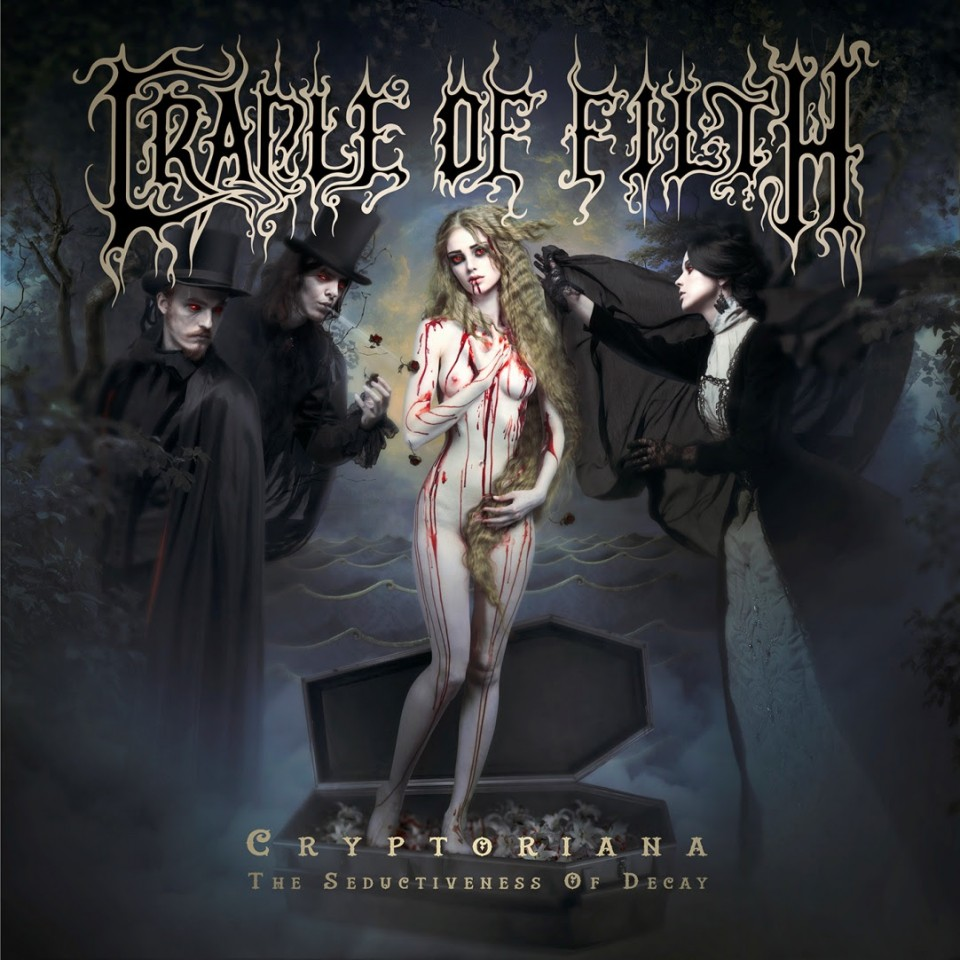 Cradle of Filth Cryptoriana — The Seductiveness Of Decay