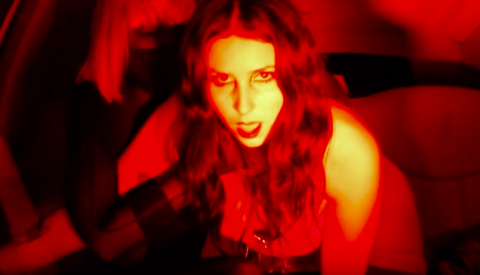 "Chelsea Wolfe releases video ""Spun"" with explicit scenes"