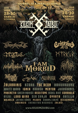 Kilkim Žaibu festival to be held on June 28-30 in Lithuania