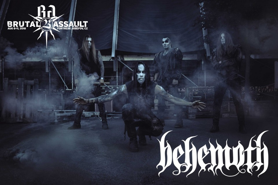Brutal Assault 23: Анонс выступлений Behemoth, Ministry, Saint Vitus и других