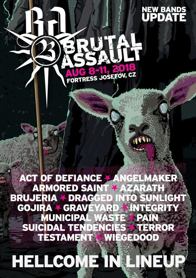Brutal Assault 23: Last year's festival aftermovie and new bands announcement