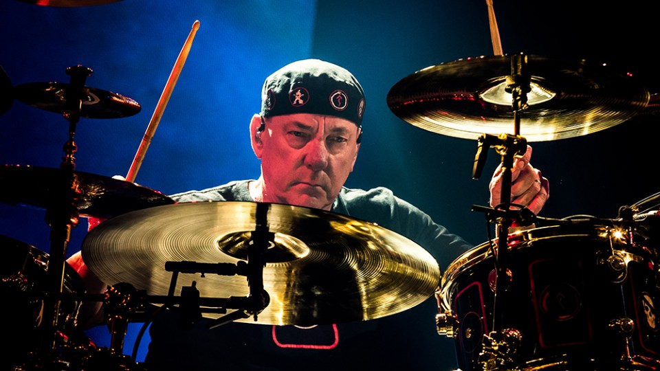 Credit: MEDIAPUNCH/SHUTTERSTOCK — Rush's drummer Neil Peart dead at age 67