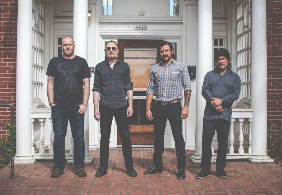 "From left to right: J.W. Walton, D. Anderson, A.J. Gregory, A. Dekker — ""The mix of genres is a symptom of our listening tastes"": Interview with Khôrada"