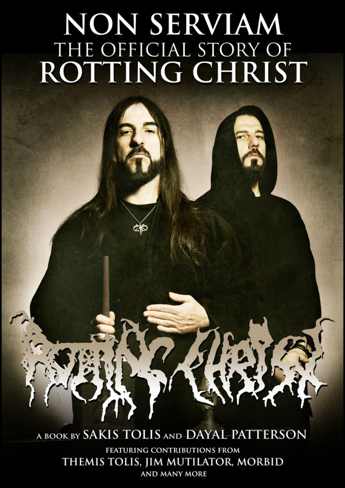 """Non Serviam: The Official Story Of Rotting Christ"": Interviews with Sakis Tolis and Dayal Patterson"