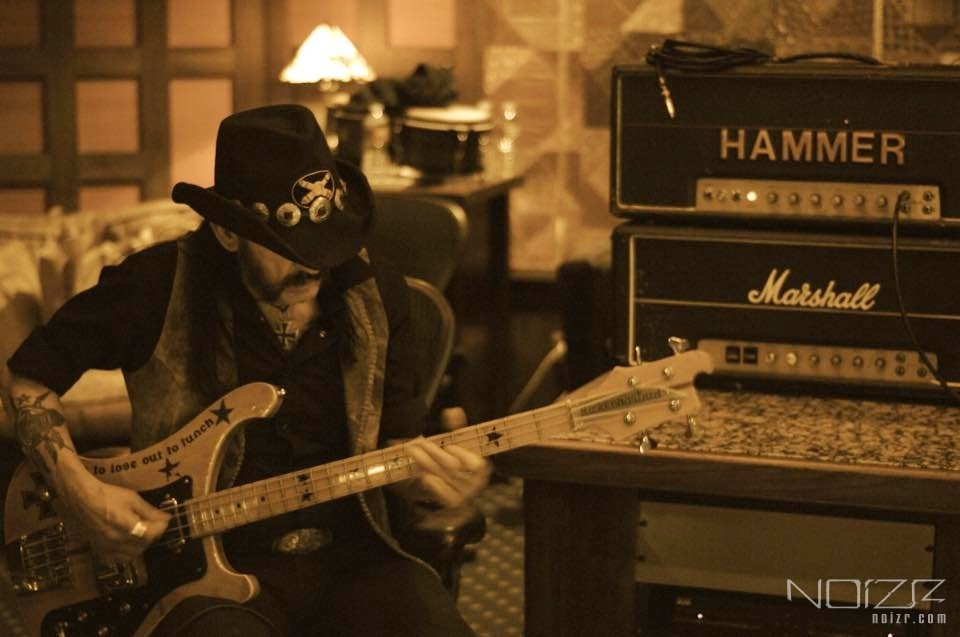 "Lemmy at the studio — No talks about age. Review for Motörhead's ""Bad Magic"""