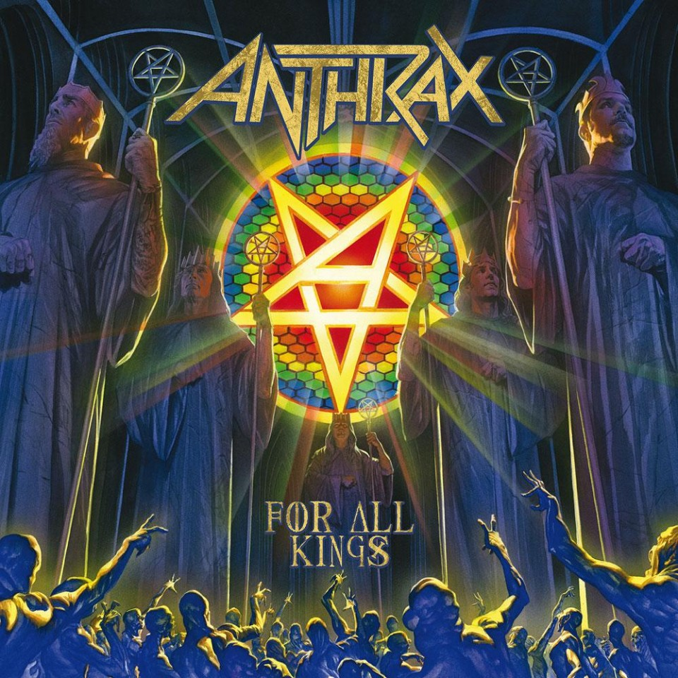 "Review for Anthrax album ""For All Kings"""
