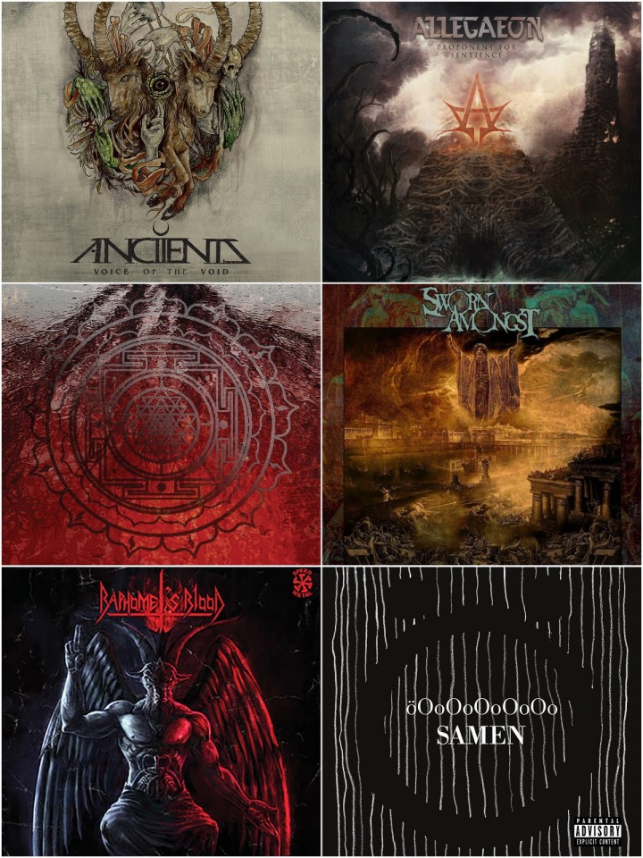 Check 'Em All: Selection of releases in different metal subgenres