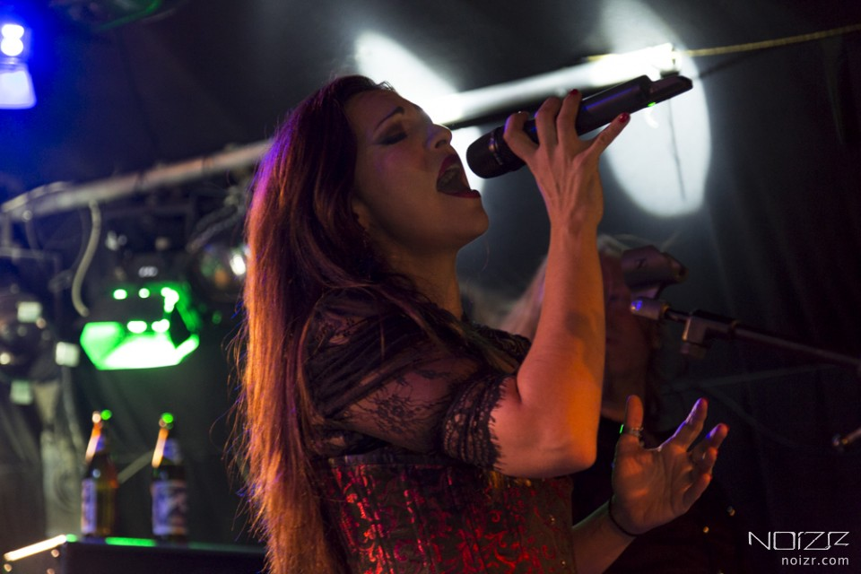 Фото з концерту Female Metal Voices Tour у Відні: The Birthday Massacre, Sirenia і The Agonist