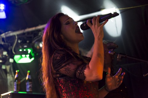 Photos from Female Metal Voices Tour's gig in Vienna: The Birthday Massacre, Sirenia, and The Agonist
