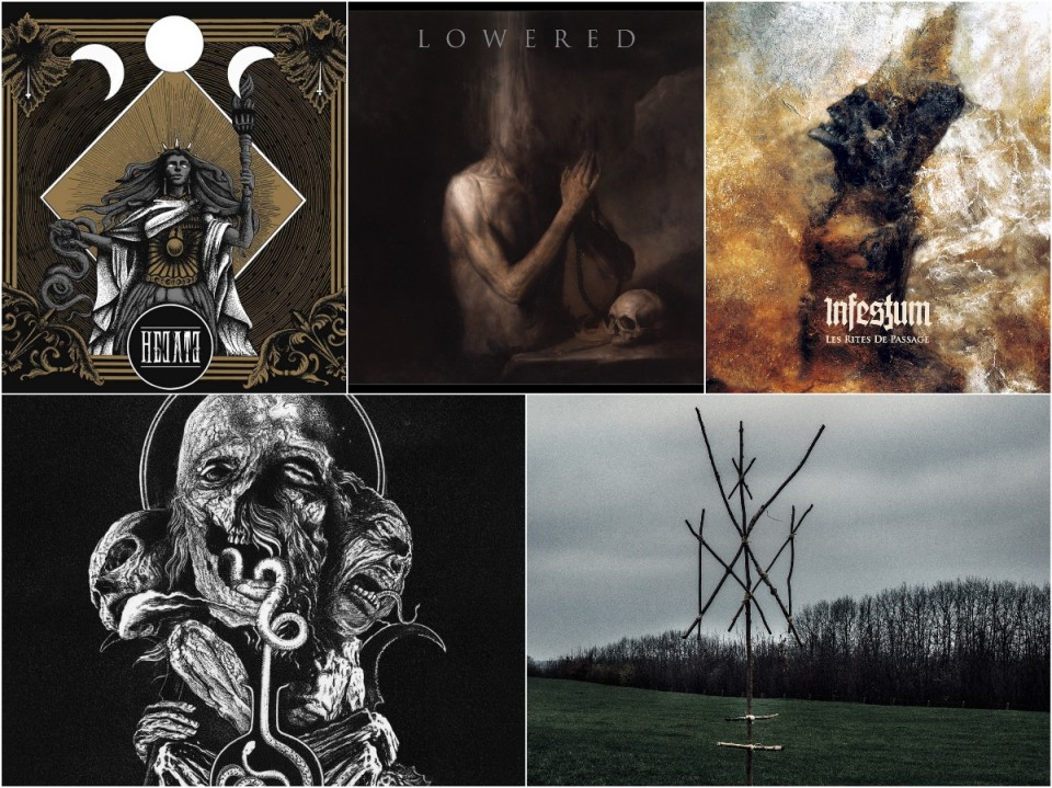 Check 'Em All: Vhorthax, Infestum, Hecate, Lowered и Wiegedood
