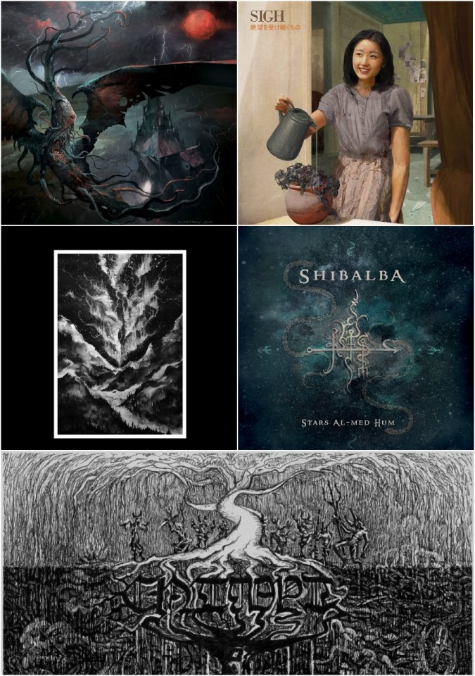 Check 'Em All: Sulphur Aeon, CNTMPT, Odious Devotion, Sigh, and Shibalba