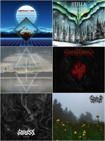 Огляди промо: Abstract Void, Eneferens, Stilla, Godless, Twilight Fauna і Samskaras