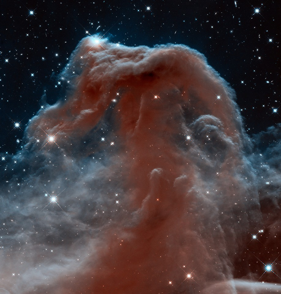 Horsehead Nebula by Hubble — From ambient to progressive deathcore: Elements of science fiction in modern music