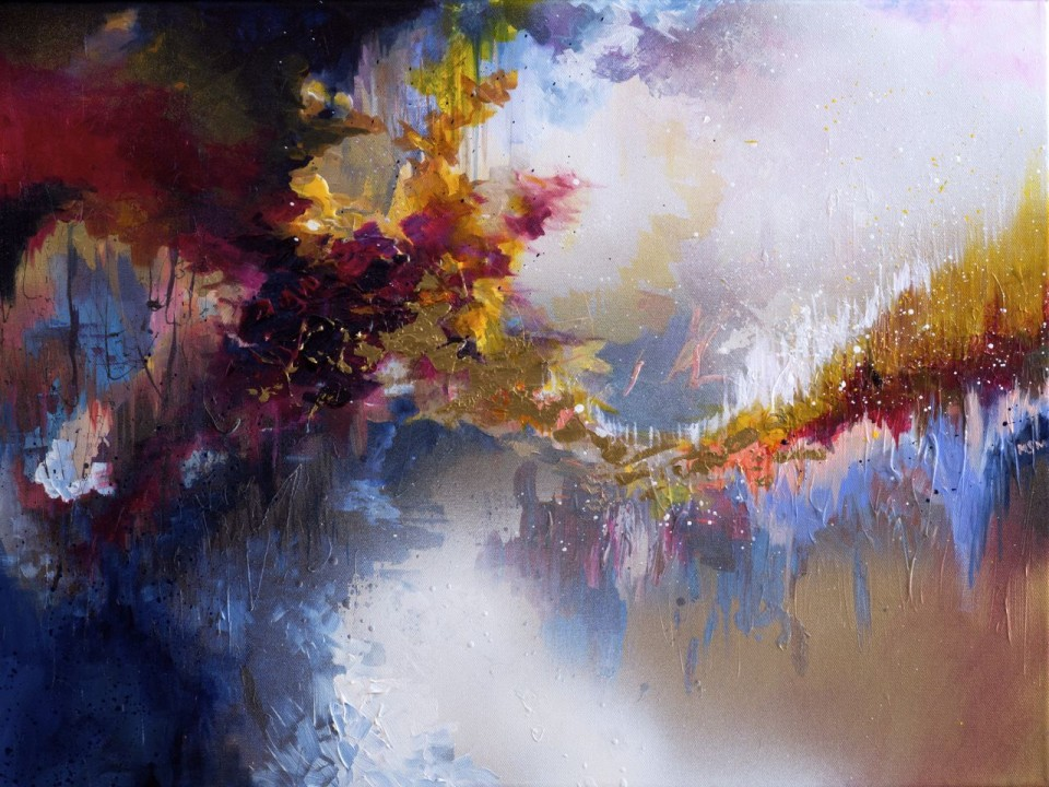"Art inspired by John Lennon's ""Imagine"" — ""I paint music"": Works of artist with synesthesia"