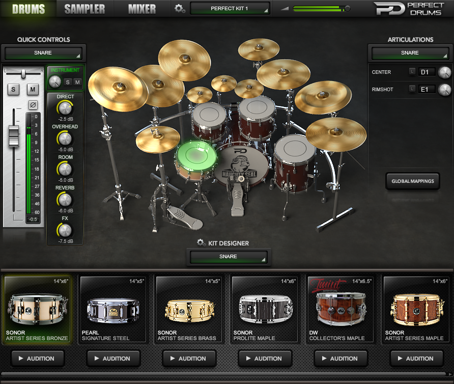 Image result for Perfect drums