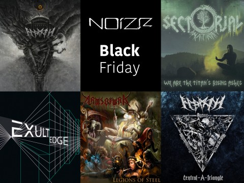 Black Friday: sales for all Noizr CDs