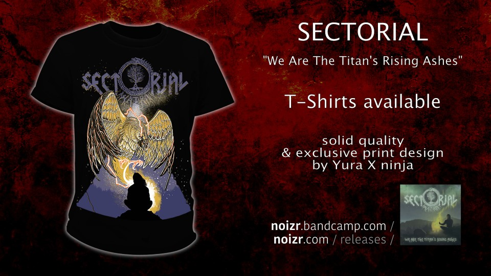 Sectorial new T-shirts with exclusive art are available